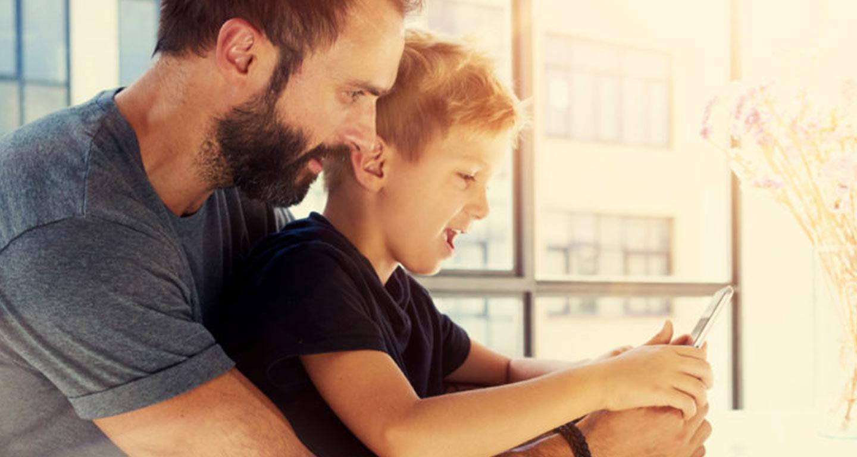 همراه با فرزندان در فضای مجازی